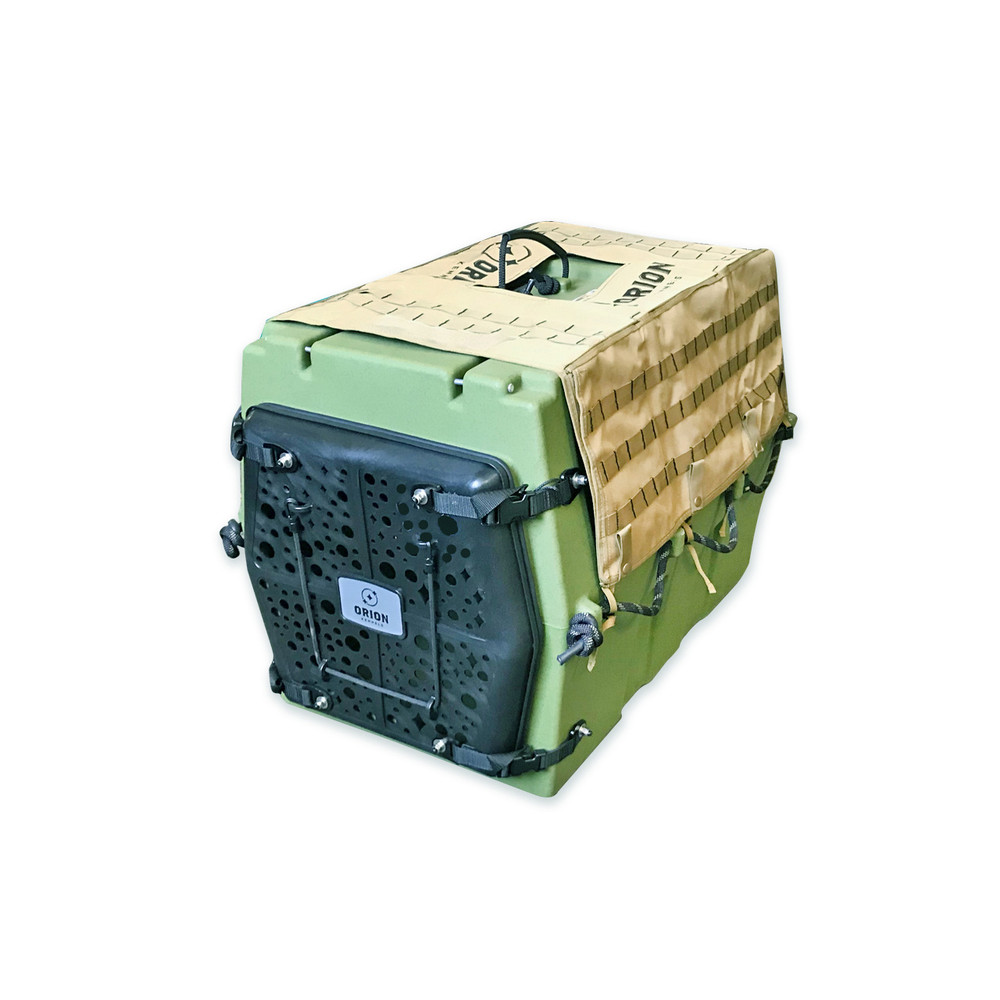 Orion Kennel AD3 MOLLE Kennel Cover Adobe