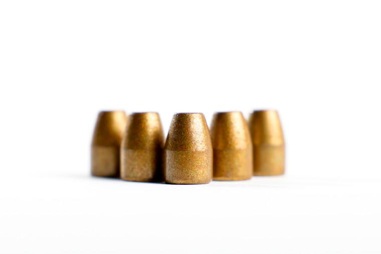 Podium 115grain, 9mm Flat Point, Bevel Base, Hi-Tek coated in Bronze Color, RE-LOAD ONLY