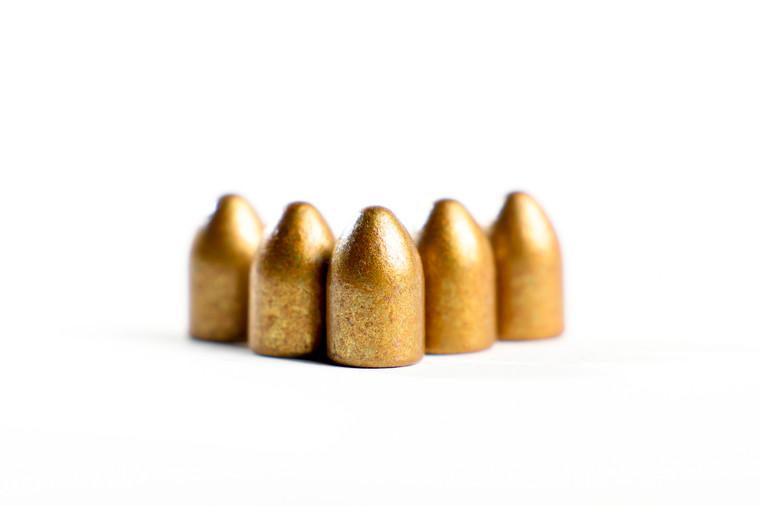 Podium 124Grain, 9mm Round Nose, Bevel Base, Hi-Tek Coated in Bronze Color, Re-Load Only