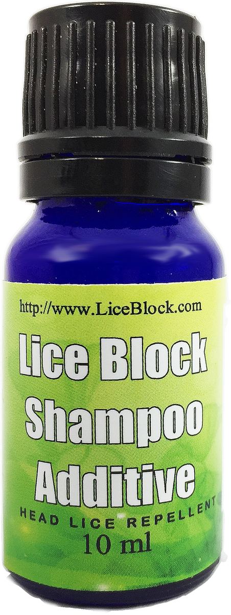 Don't get re-infested! Lice Block is a shampoo additive that uses natural oils to repel head lice. Designed to protect you after you have completed a treatment program that kills head lice and nits. 10 ml dropper bottle.