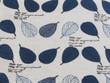 Printed Cotton Linen Leaves 1C