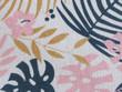 Printed Cotton Linen Floral 26C