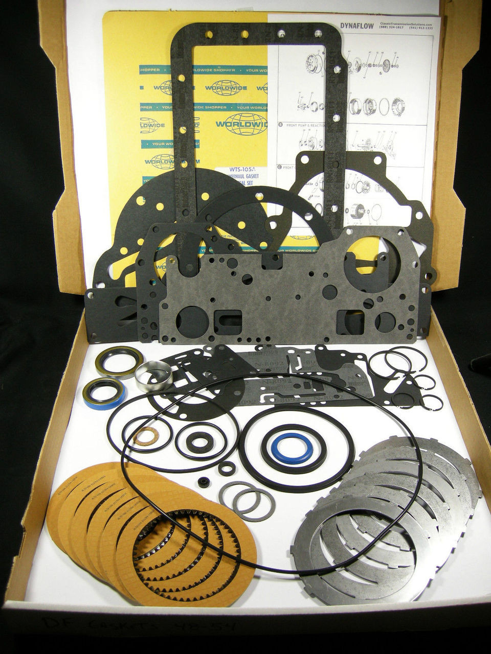 BUICK DYNAFLOW Rebuild Part Kit 1959 1960 1961 1962 1963 Transmission Rebuilding
