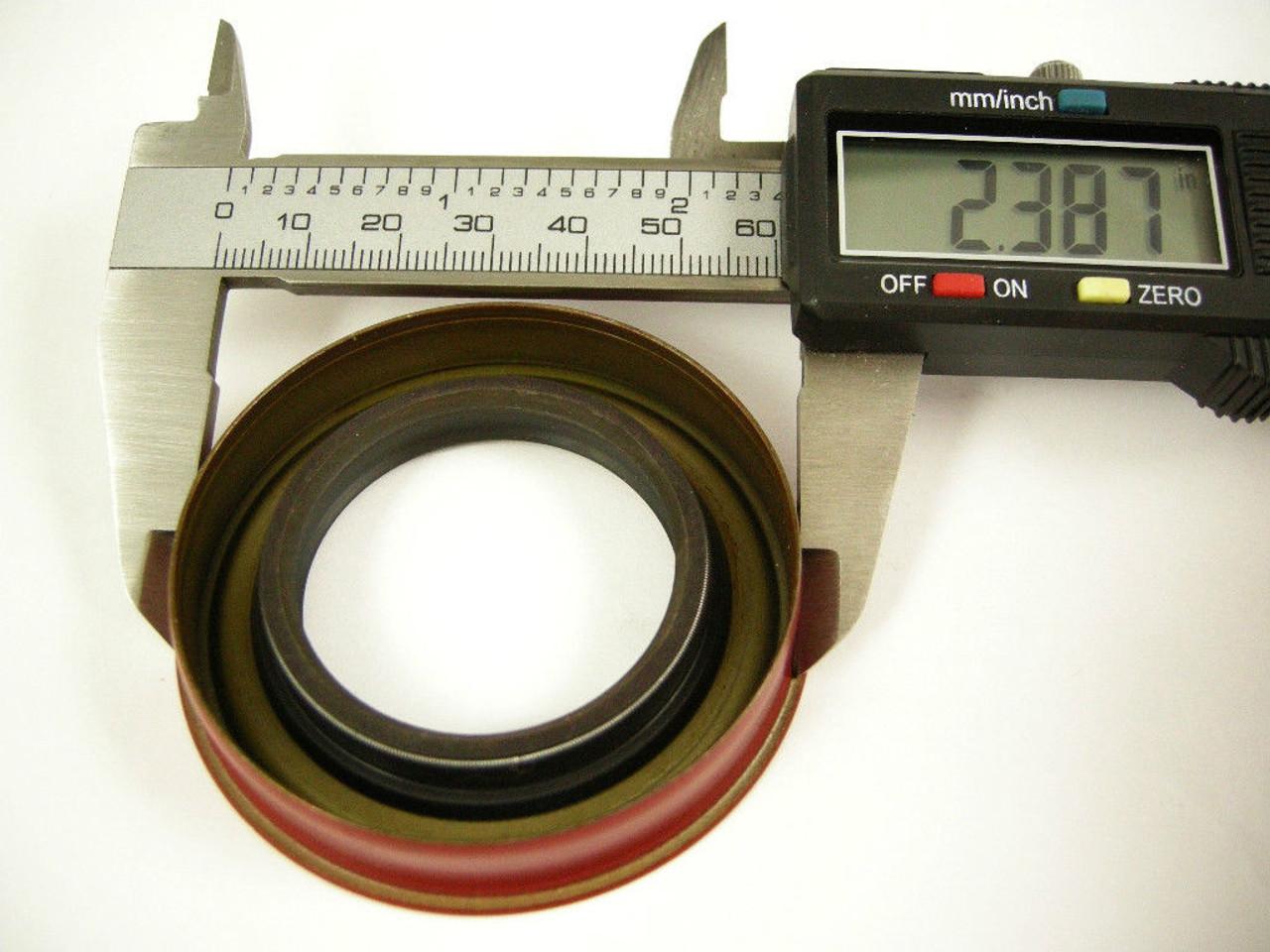 TH350 Turbo 350 Transmission Rear Extention Hsg Seal Up Kit Gasket Seal Bushing