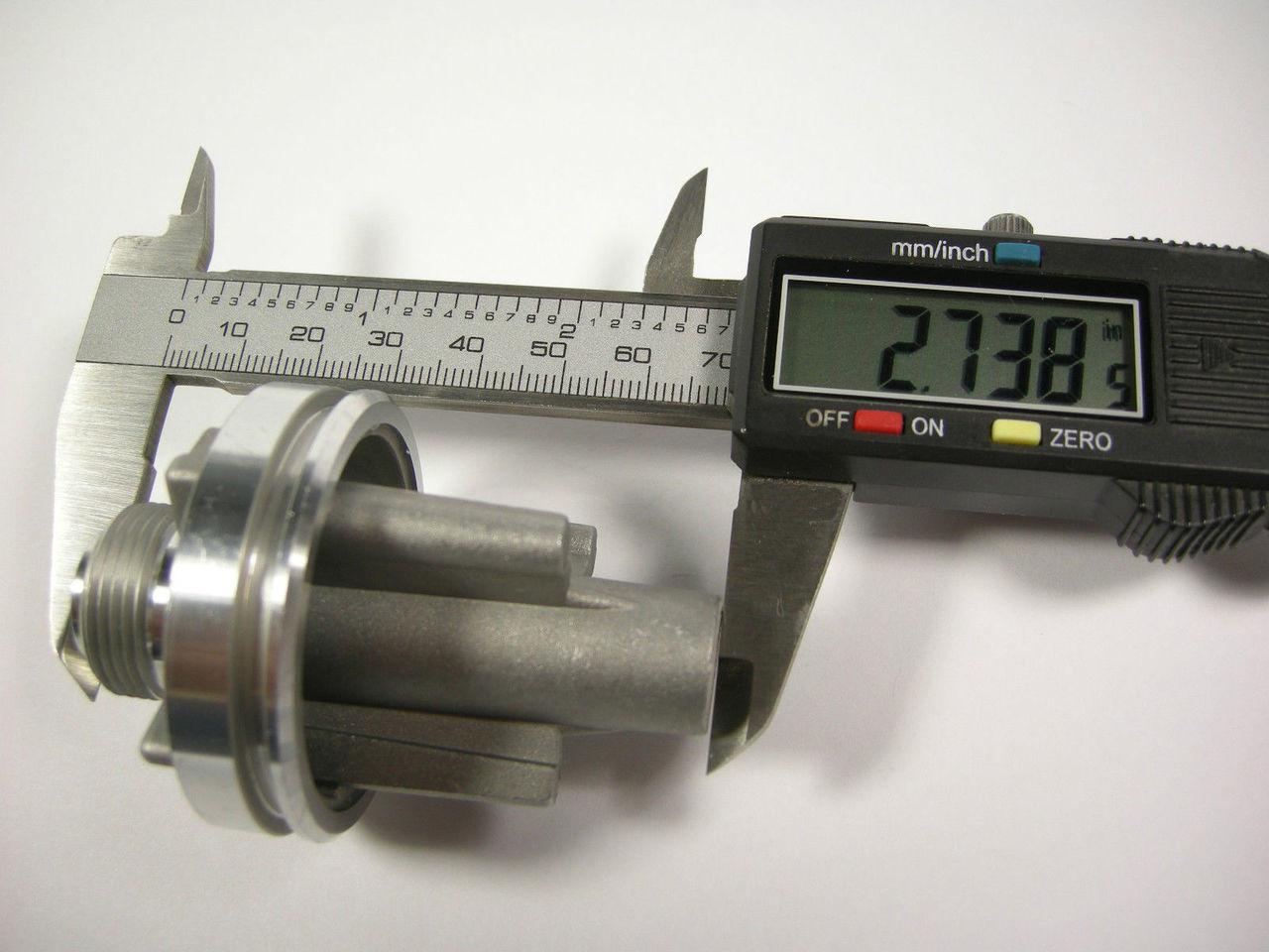 TH400 34-39 Speedo Gear Housing Extra Seals Turbo 400 Speedometer Sleeve