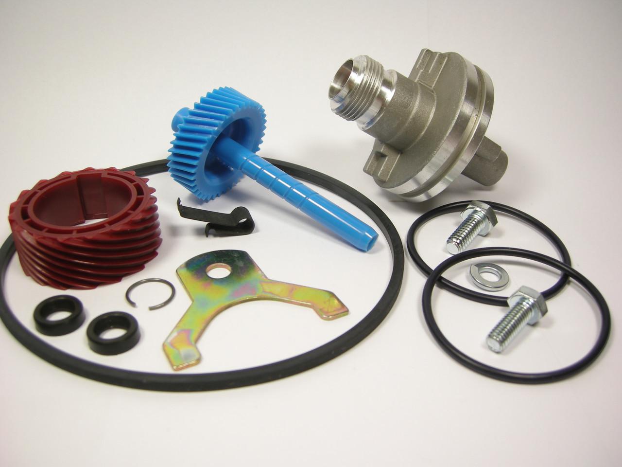 700R4 TH350 17 & 38 Tooth Speedo Kit Gears Housing Speedometer Parts