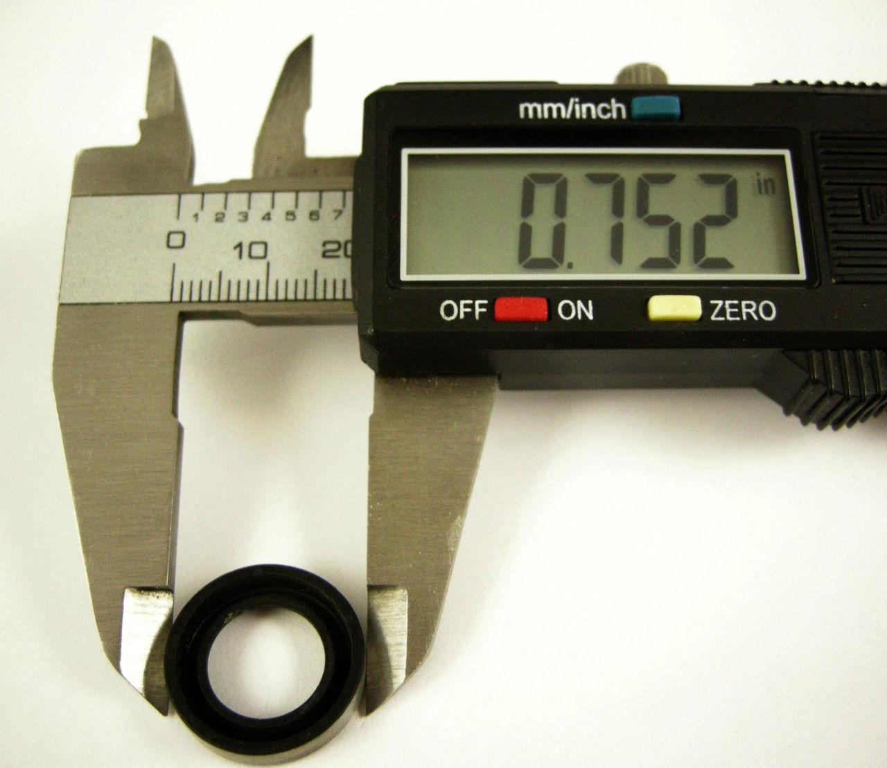 2 Pk Linkage Seal TH350 TH400 700R4 Transmission Shift Shaft