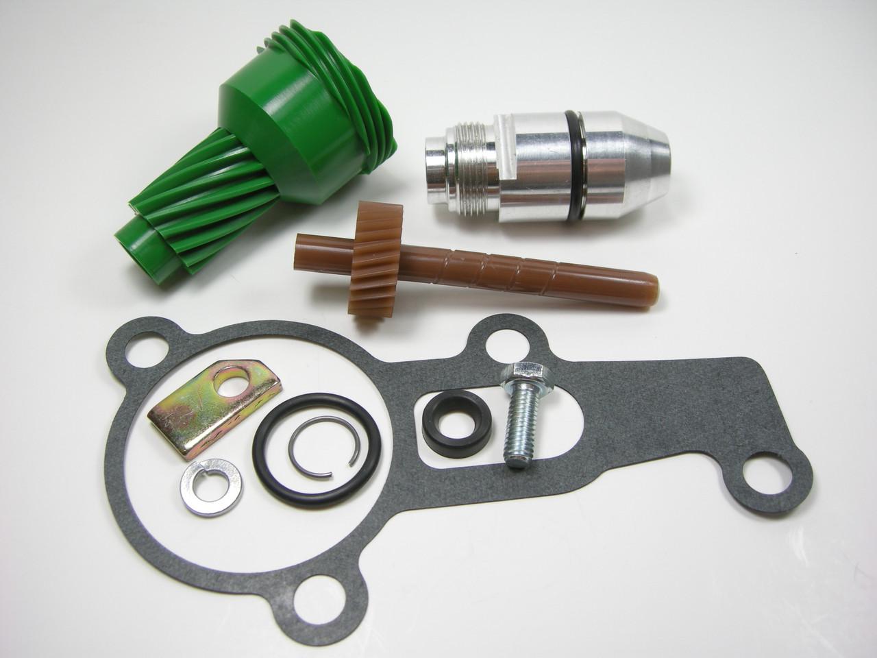 10 & 26 Tooth 2004R Complete Speedometer Kit w/ Gasket Gears Housing 200-4R