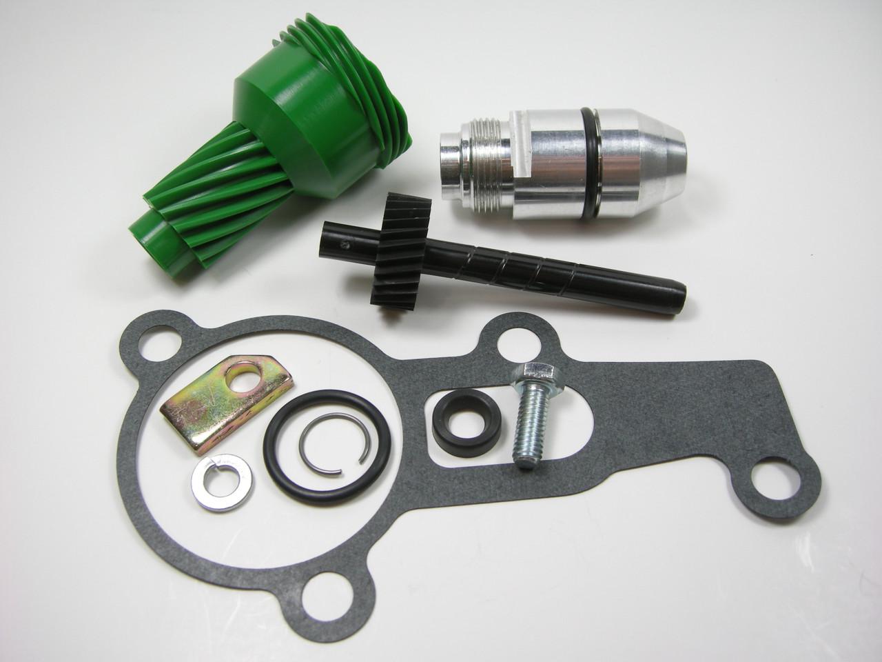 10 & 27 Tooth 2004R Complete Speedometer Kit w/ Gasket Gears Housing 200-4R