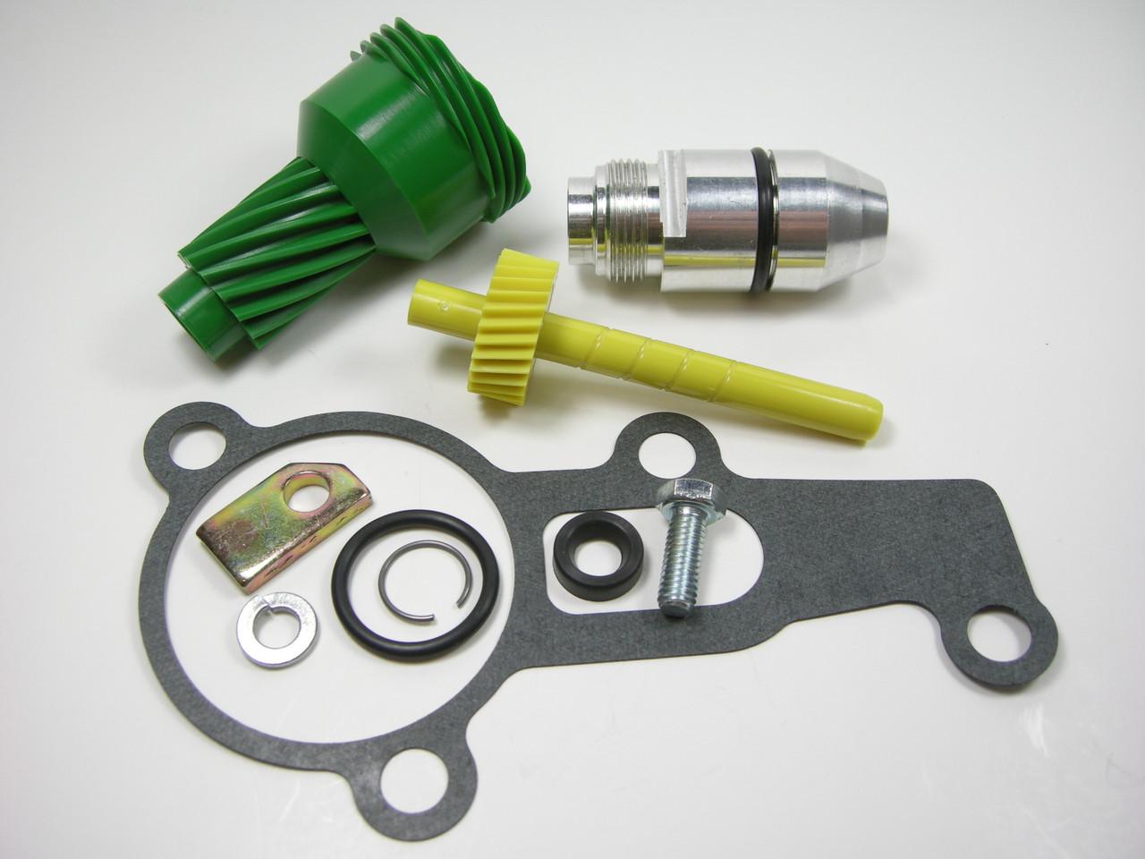 10 & 28 Tooth 2004R Complete Speedometer Kit w/ Gasket Gears Housing 200-4R