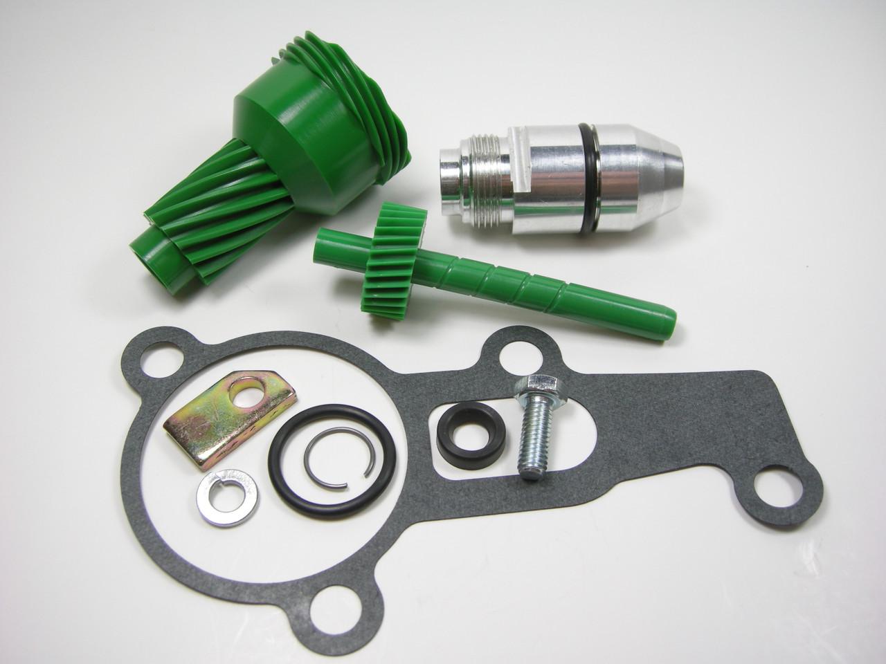 10 & 29 Tooth 2004R Complete Speedometer Kit w/ Gasket Gears Housing 200-4R