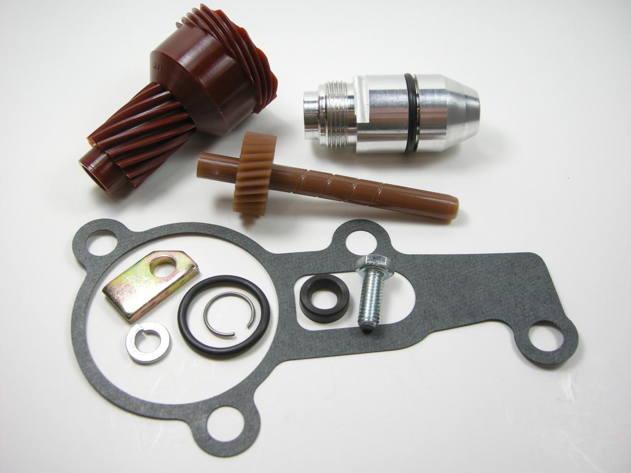 12 & 26 Tooth 2004R Complete Speedometer Kit w/ Gasket Gears Housing 200-4R