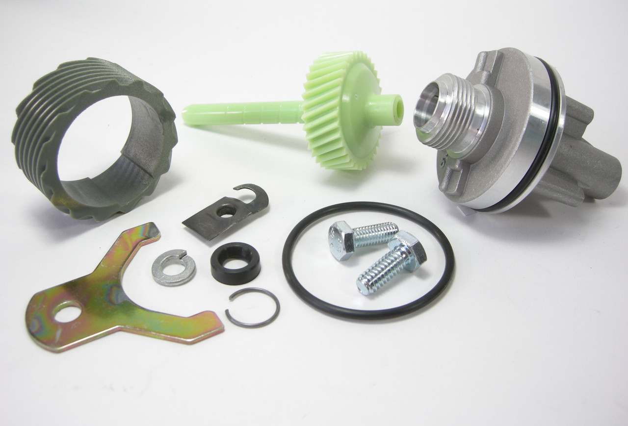 15 & 34 Tooth TH400 Complete Speedometer Kit w/Housing Gears Retainer Clip Turbo400 Turbo 400