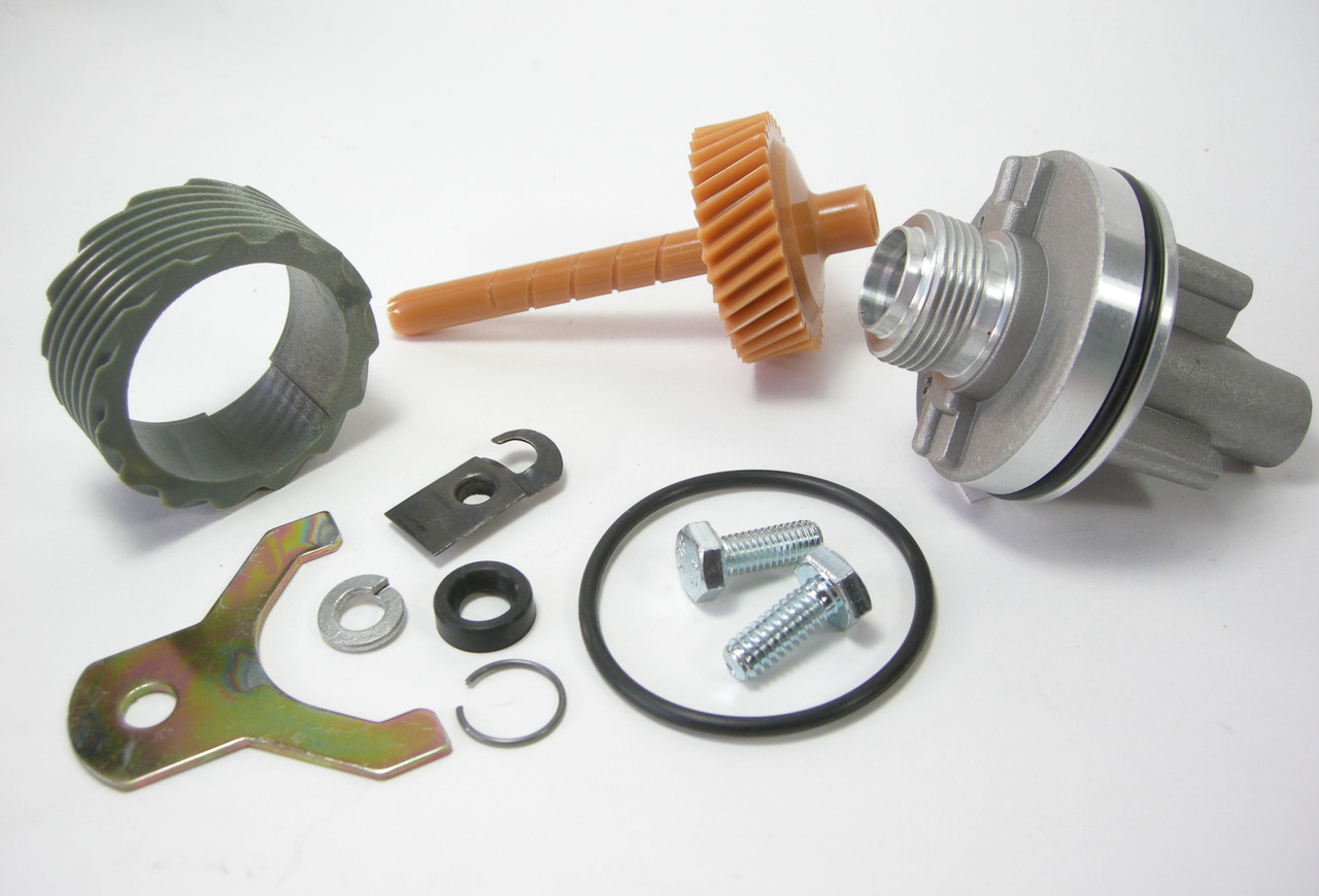 15 & 35 Tooth TH400 Complete Speedometer Kit w/Housing Gears Retainer Clip Turbo400 Turbo 400