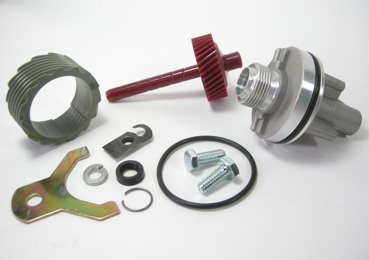 15 & 37 Tooth TH400 Complete Speedometer Kit w/Housing Gears Retainer Clip Turbo400 Turbo 400