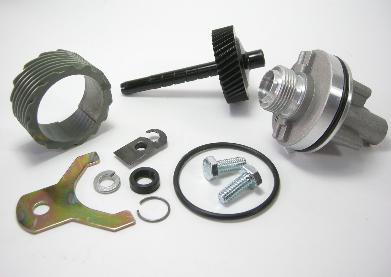 15 & 40 Tooth TH400 Complete Speedometer Kit w/Housing Gears Retainer Clip Turbo400 Turbo 400