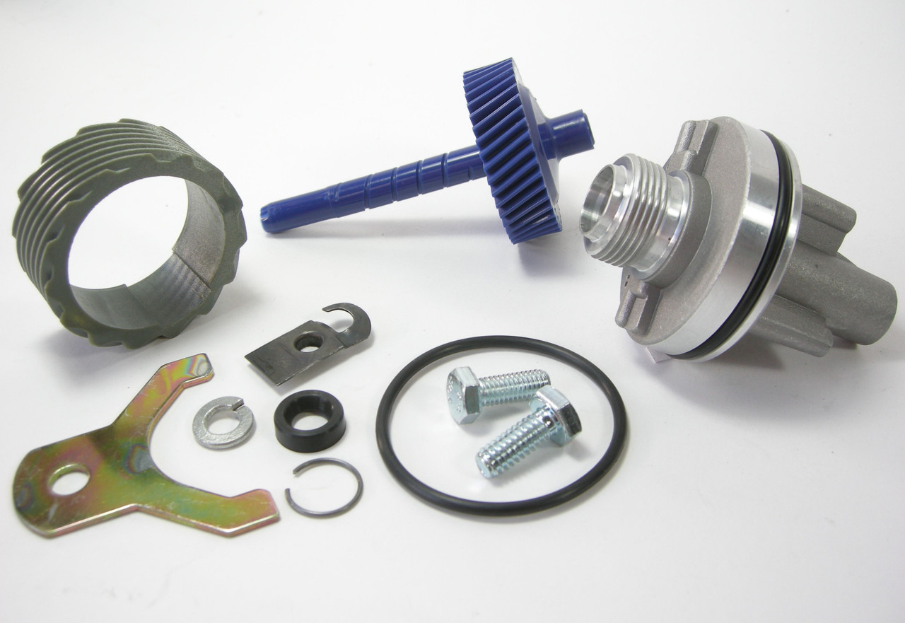 15 & 43 Tooth TH400 Complete Speedometer Kit w/Housing Gears Retainer Clip Turbo400 Turbo 400