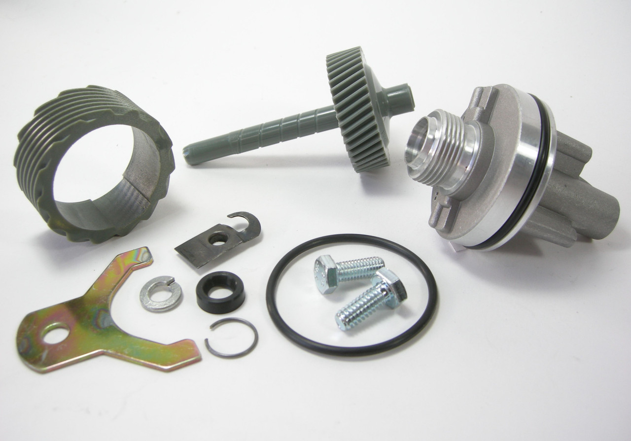15 & 44 Tooth TH400 Complete Speedometer Kit w/Housing Gears Retainer Clip Turbo400 Turbo 400