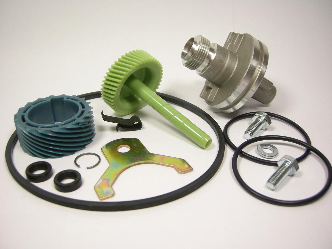 700R4 TH350 18 & 45 Tooth Speedo Kit Gears Housing Speedometer