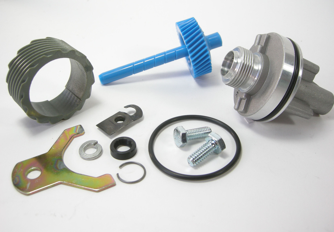 15 & 38 Tooth TH400 Complete Speedometer Kit w/Housing Gears Retainer Clip Turbo400 Turbo 400