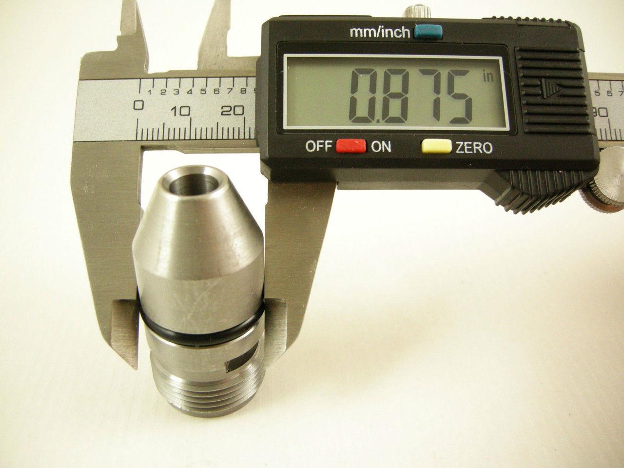ALUMINUM POWERGLIDE SPEEDO GEAR SLEEVE HOUSING Aluminum Powerglide Transmission Speedometer