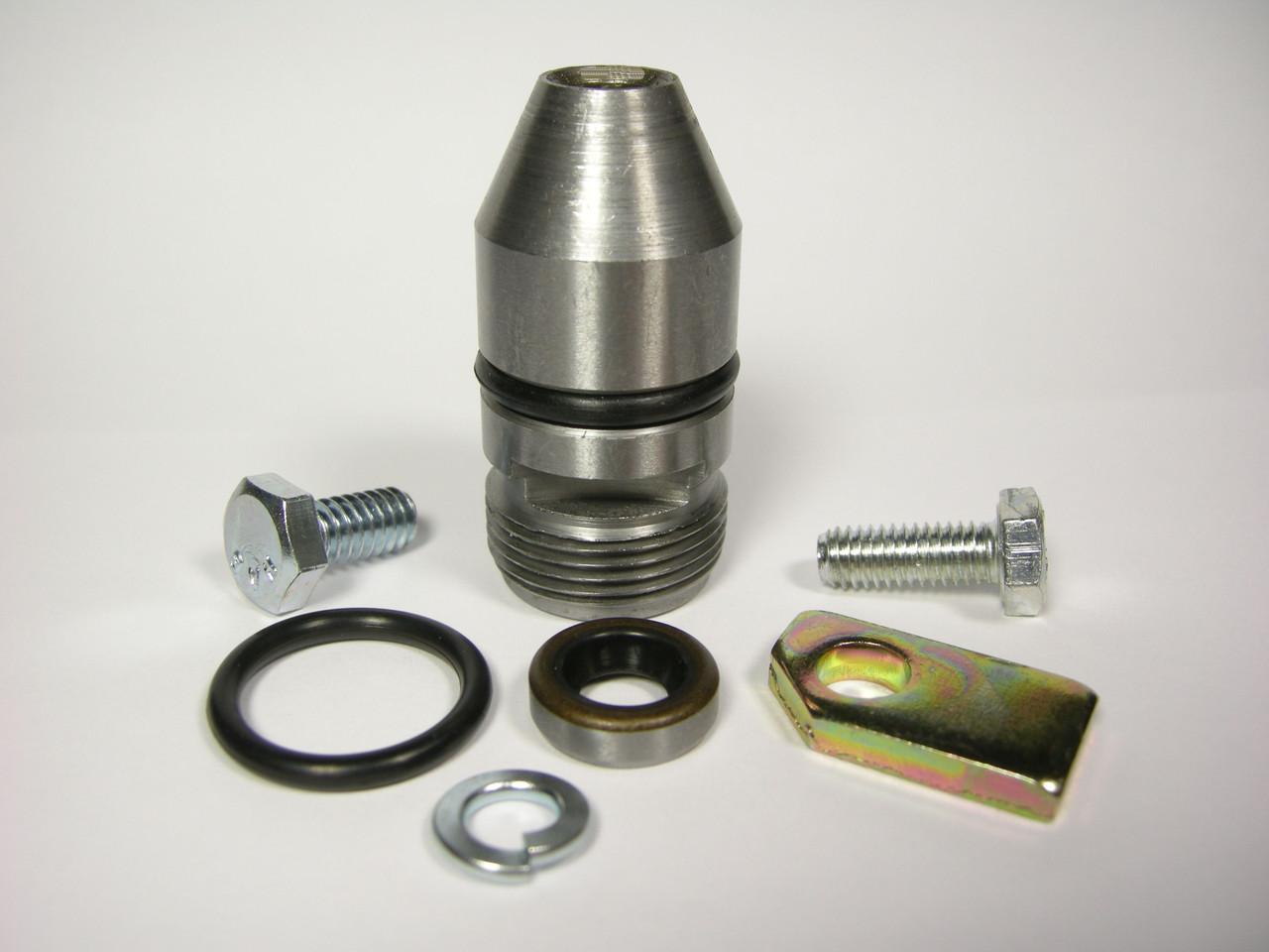 Aluminum Powerglide Speedo Housing Kit w/ Extra Seals & Retainer Bracket Speedometer Aluminum Powerglide