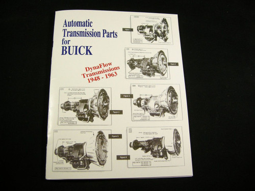 Buick Dynaflow Parts Identification Guide With OEM & Lempco Numbers 1948-1963 Manual