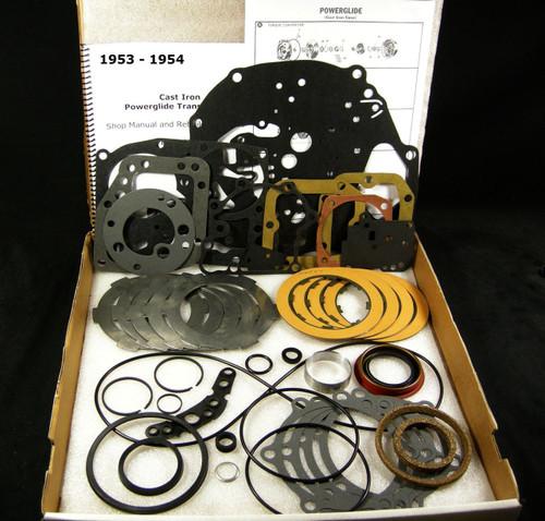 1953 54 cast iron powerglide transmission rebuild overhaul. Black Bedroom Furniture Sets. Home Design Ideas