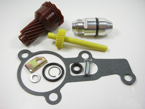 New 904 Transmission Housing /& 31 Tooth Long Speedometer Gear w Oring /& Seal