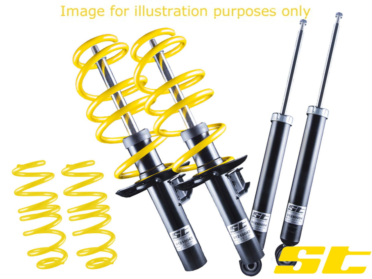 St Suspension Sport Suspension Kit Vw Polo Mk2 Awesome Gti Volkswagen Audi Group Specialists