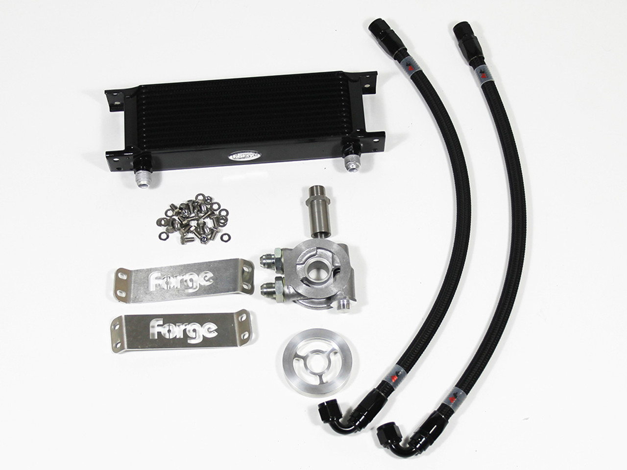 Forge Engine oil cooler kit for Transporter 2 0TDI Twin Turbo