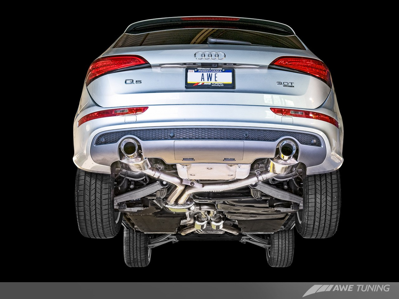 Performance Exhaust Systems >> Awe Tuning Audi Q5 3 0t Performance Exhaust Systems
