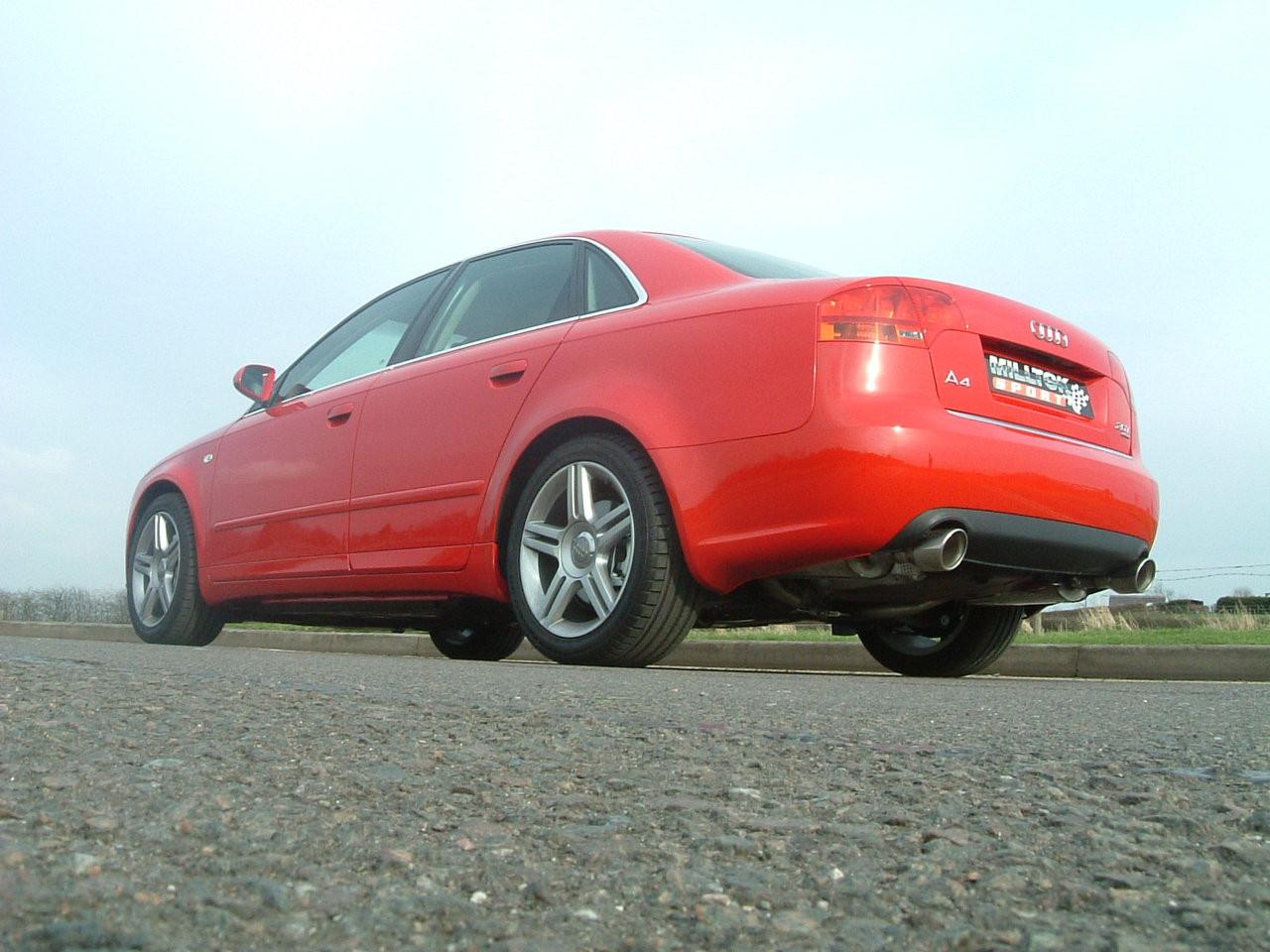 Milltek Cat Back Exhaust For Audi A4 20 Tfsi B7 Quattro And Dtm