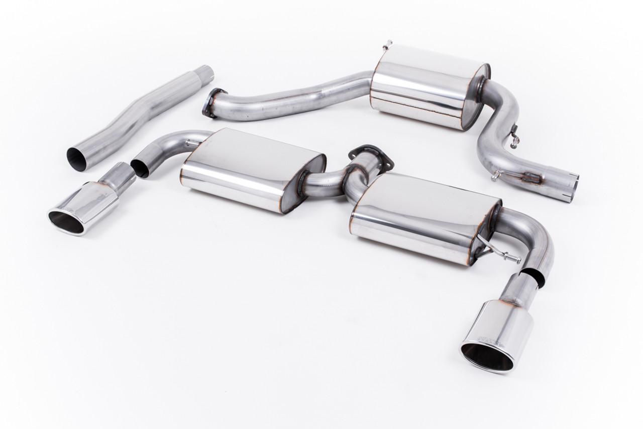 Milltek Cat Back Exhaust Volkswagen Scirocco R Awesome Gti Volkswagen Audi Group Specialists