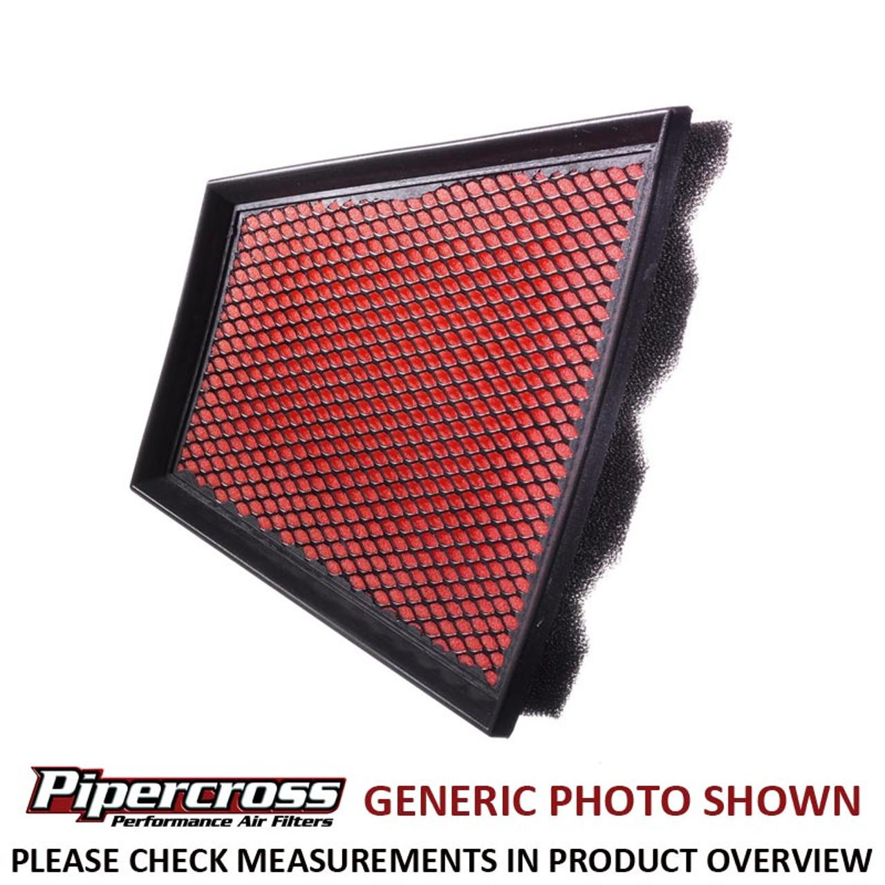 2.5 TDI V6 11//00 180bhp B6//B7 AUDI A4 Pipercross Performance Filtre à air