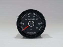 Newsouth Performance 'VW White' TDI Boost Gauge - GAU014