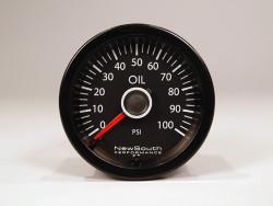 Newsouth Performance 'VW White' Oil Pressure Gauge - GAU015