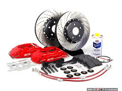 ECS Stage 3 Big Brake Kit - Drilled & Grooved - 332x32mm