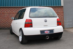 Scorpion Rear Silencer - Volkswagen Lupo Sport 16v