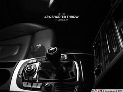 ECS Tuning - Adjustable Short Shifter - Audi B8 Models