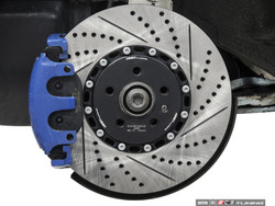 ECS Tuning - 2-Piece Front Drilled & Slotted 334mm Brake Discs
