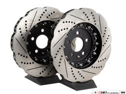 ECS 2-Piece 'Tru-Float' Wave Front Brake Discs - Audi S4 3.0T (B8) (345x30mm)