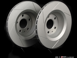 ECS Tuning - Slotted Rear Brake Discs for MQB Cars (310mm)