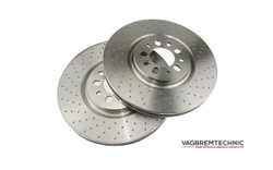 Vagbremtechnic Front Disc Installation Kit - OE 1 Piece 330x28mm