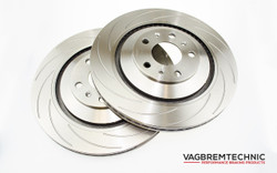 Vagbremtechnic Rear Disc Installation Kit - OE 1 Piece 335x22mm - VW Scirocco R Only