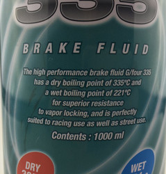 Project Mu High Performance DOT4 Brake Fluid - 1 Ltr