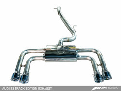 AWE Tuning Track Edition Exhaust - Audi S3 8V