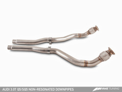 AWE Tuning Audi SQ5 3.0TFSI Non-Resonated Downpipes
