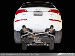 AWE Tuning Audi Q5 2.0TFSI Touring Edition Exhaust