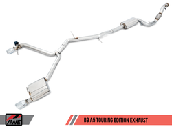 AWE Tuning Audi A5 B9 2.0T Switchpath Cat-Back Exhaust System